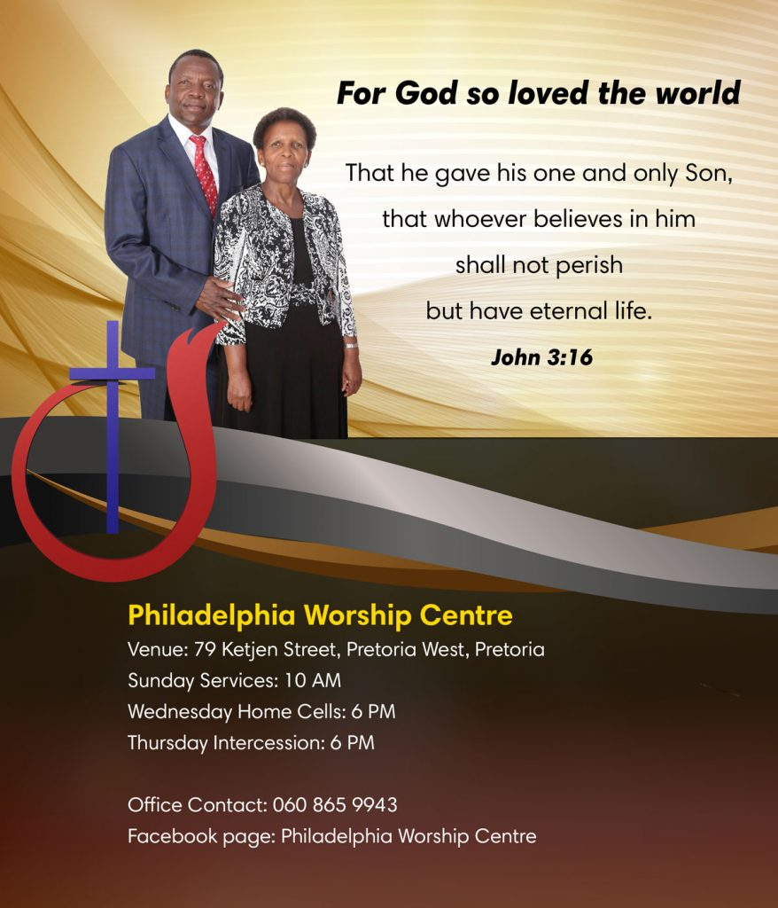 Philadelphia Worship Centre Poster Chruch Conventions4