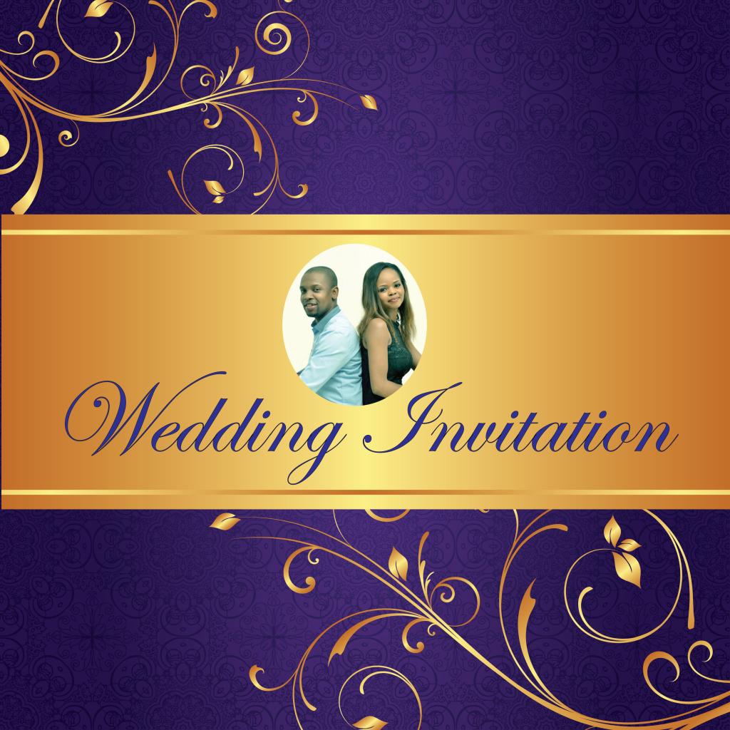 Poster Wedding Invitation Israel Mashile