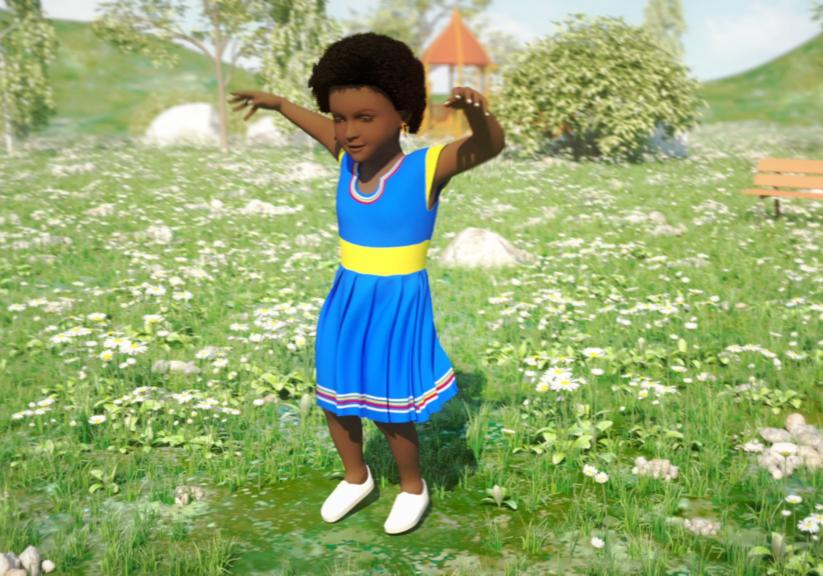 Little Girl Nthate Mogulu21